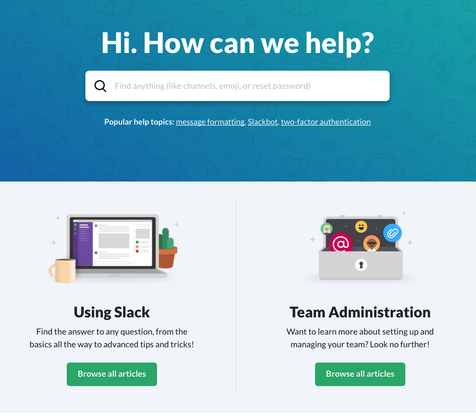 Slack's Role Driven Organization